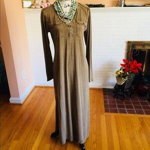 Polo Ralph Lauren Silk Maxi Dress